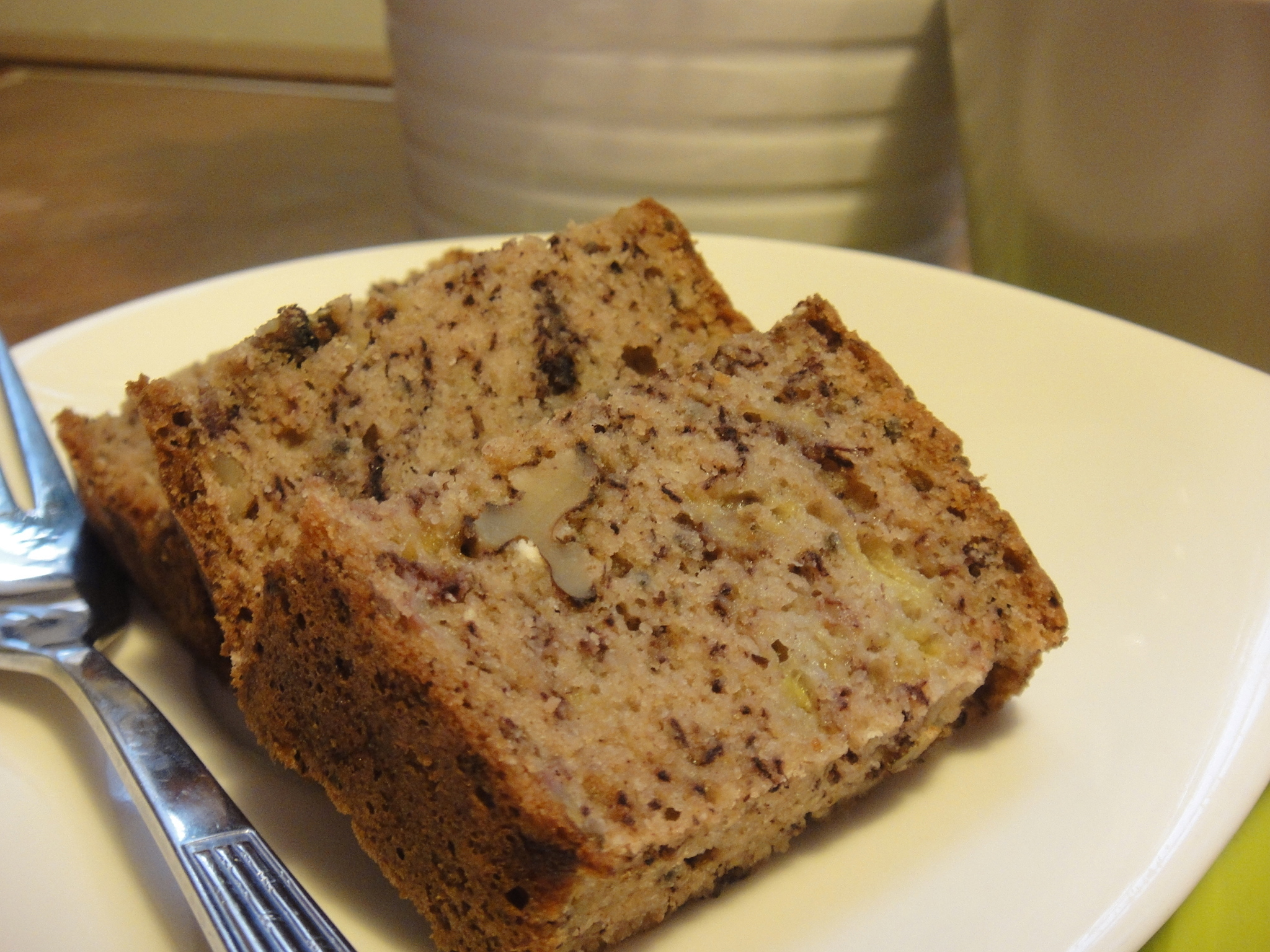 核桃香蕉蛋糕 Banana Walnut Bread