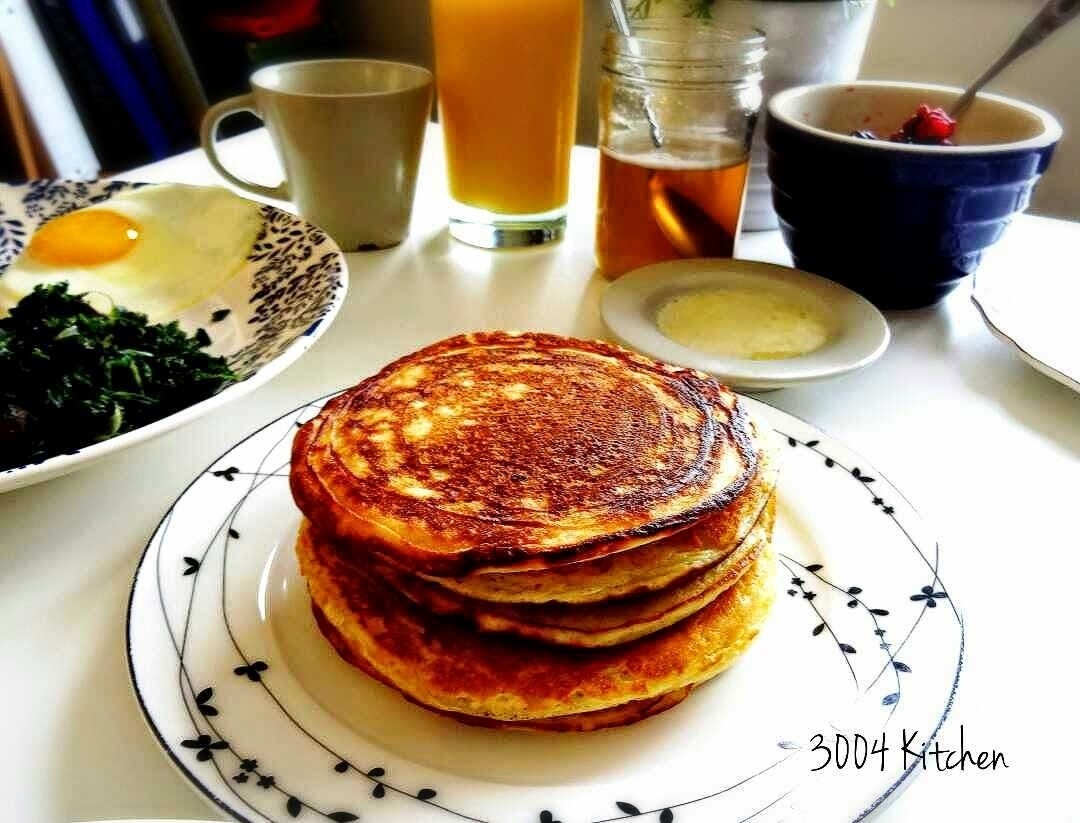 早午餐與班戟 Brunch and Pancakes from scratch