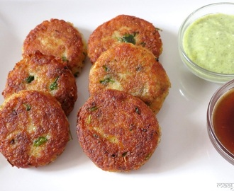 Sama and potato Patties-Navratri Special