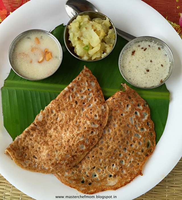 Kuttu Dosa | Buckwheat Crepes | How to make Kuttu Dosa at Home | Navratra Fasting Recipe | Gluten Free | Vegan Recipe | Stepwise Pictures