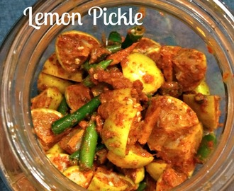 Step-by-step Recipe of Nimbu Ka Achaar I Lemon Pickle I Lime Pickle