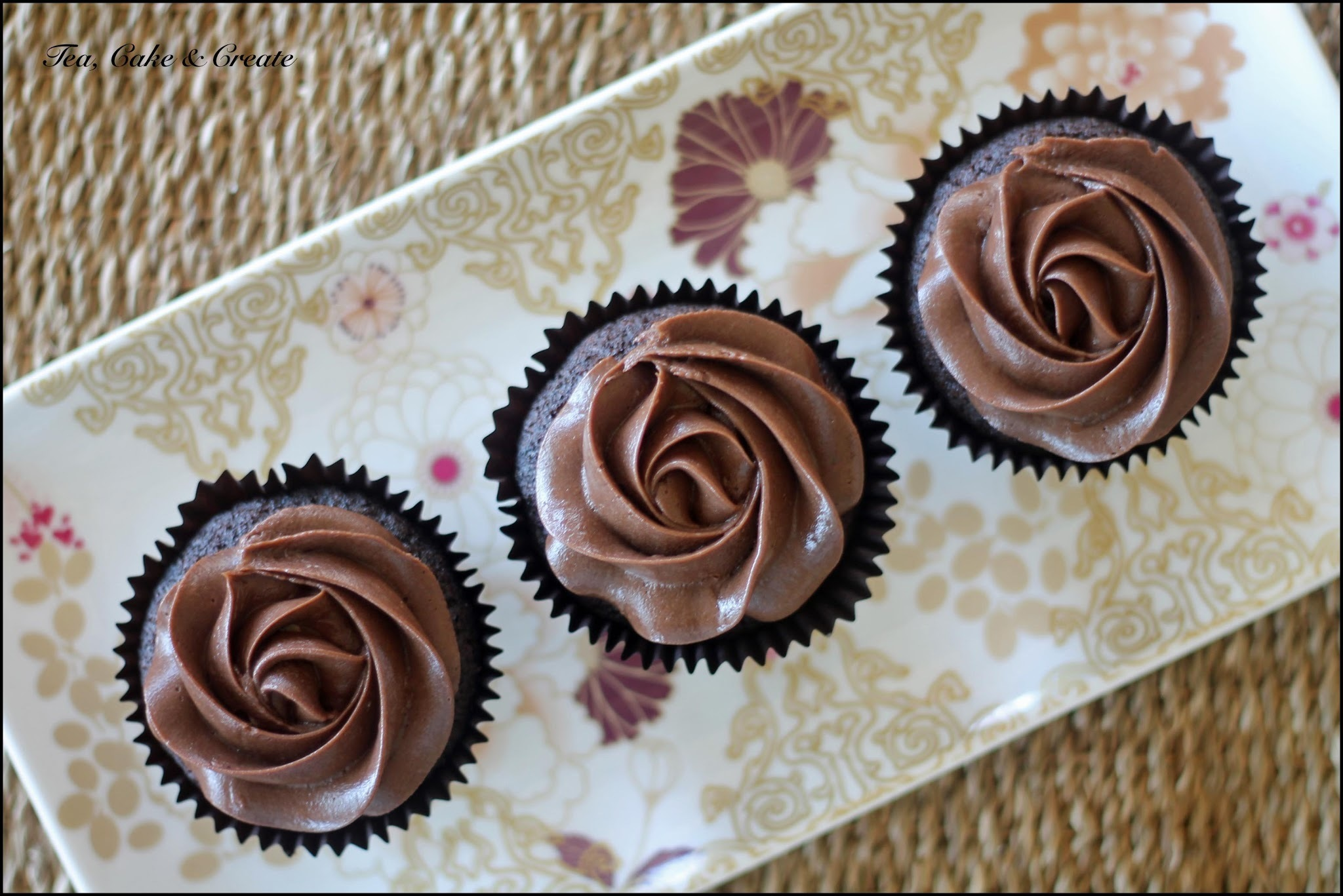 Chocolate Cupcakes with Amarula Ganache Centres