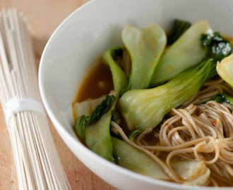 Simple Soba Noodle Soup