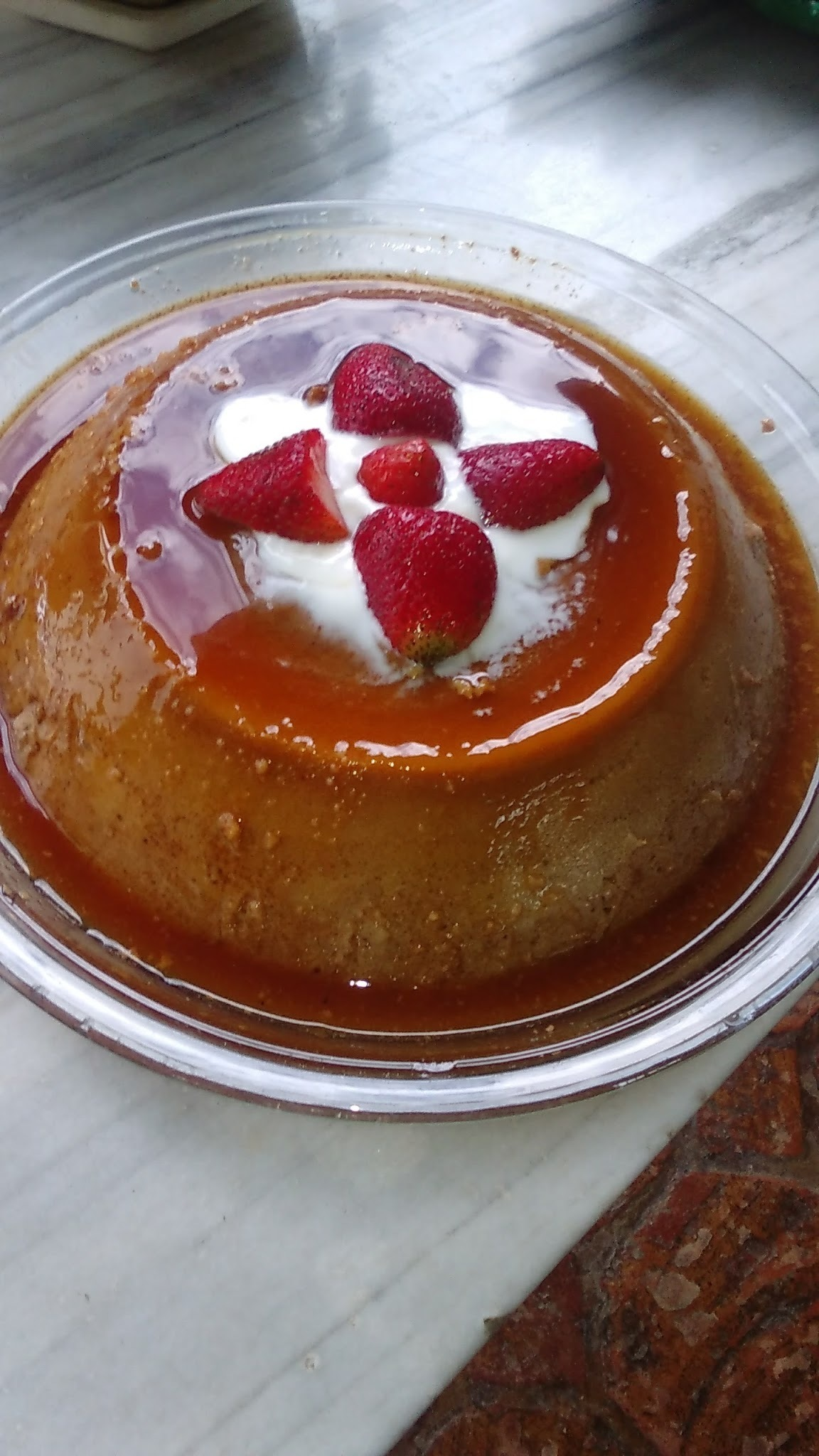 FLAN DE CHOCOLATE (QUESILLO)