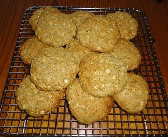 Healthier ANZAC Biscuits