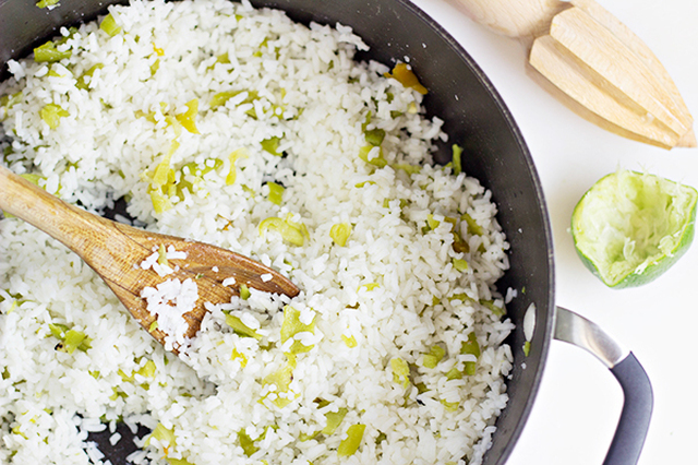 Easy Side Dishes: Hatch Chile Rice Recipe
