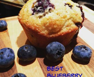 Best Blueberry Lime Muffins