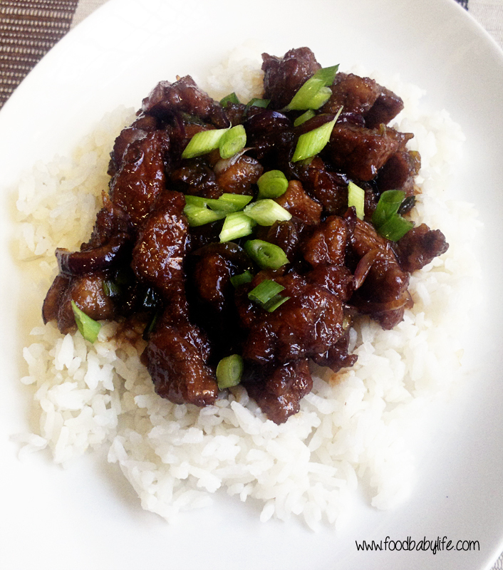 Secret Recipe Club - Mongolian Lamb