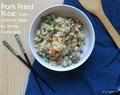 Pork Fried Rice from the new book One-Pot Paleo