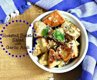 Roasted Potato Salad with Garlic Aioli