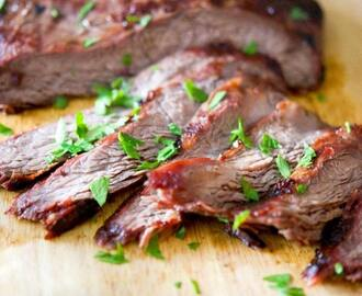 Soy-Ginger Grilled Flank Steak
