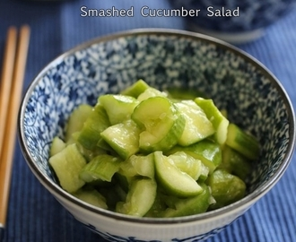 Smashed Cucumber Salad 拍黃瓜