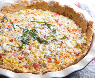 Mexican Street Corn Tart #WeekdaySupper