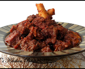 Kosha Mangsho...declaring 'Bengali week' open on this space!!