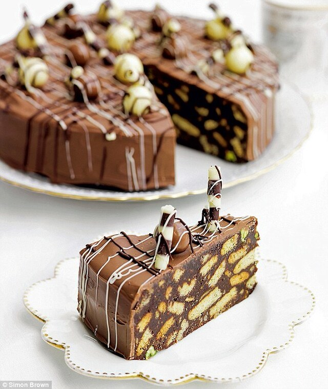Recipes fit for a prince (or two): Chocolate biscuit cake