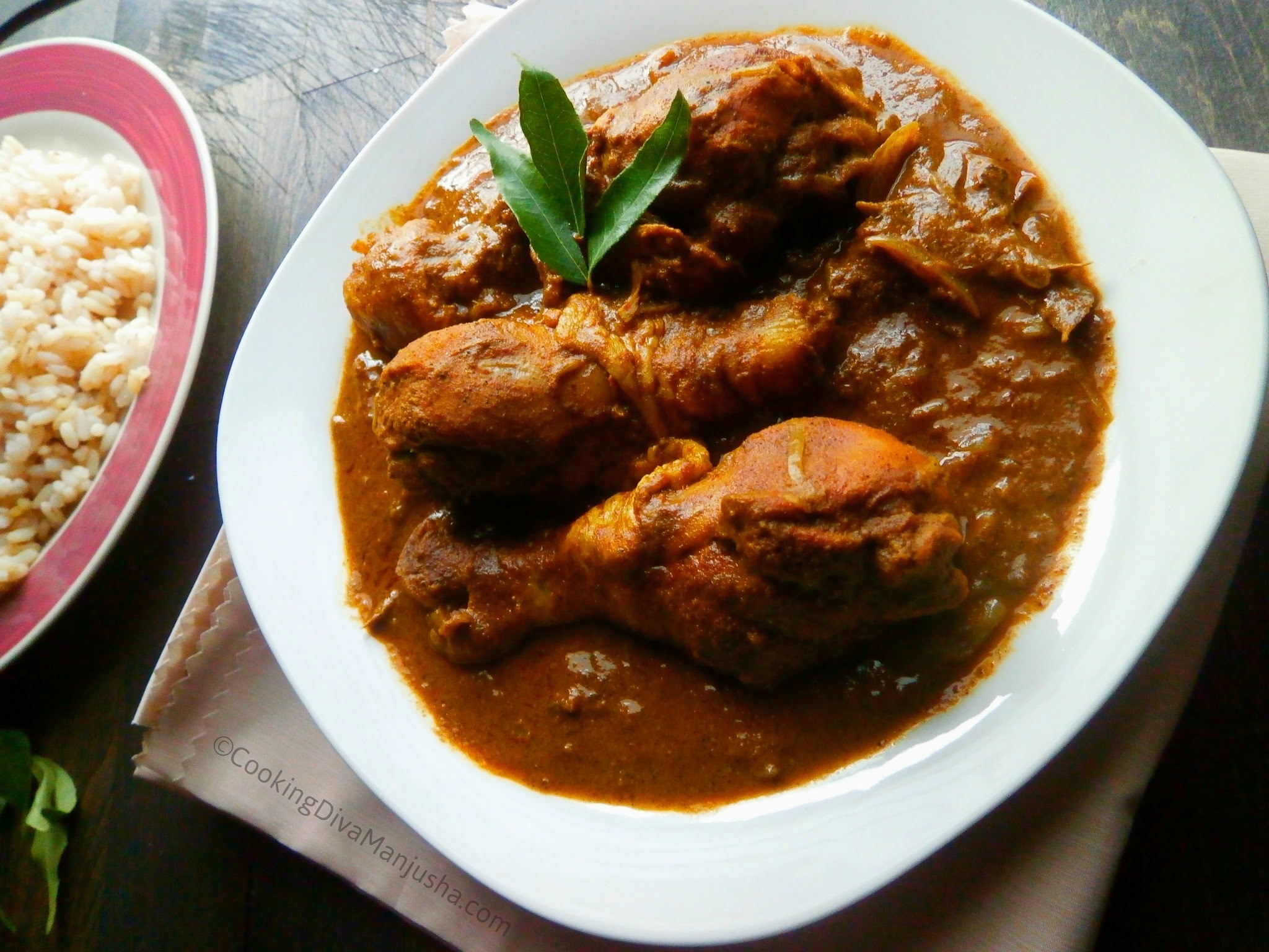 Kerala chicken curry/Naadan kozhi curry