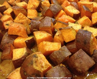 Baked Curry Sweet Potatoes Recipes