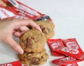 ♥ Kit Kat Hazelnut Cookies ♥