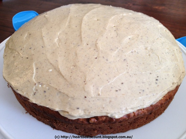 Carrot and Apple Cake with Sunflower Seeds (Thermomix Recipe)