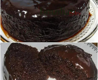 BOLO DE CHOCOLATE DE LIQUIDIFICADOR ❤  Ingredientes Massa: 1 xícara de chá de...
