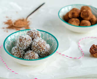 Energy balls met noten en dadels