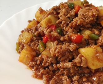 Kriska Cooks: Beef and Pork Picadillo
