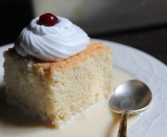 Tres Leches Cake Recipe - Three Milk Cake Recipe