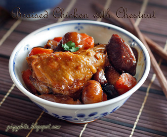 Braised Chicken with Chestnut 板栗焖鸡