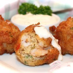 ~ Creole Crawfish Beignets w/French Remoulade ~