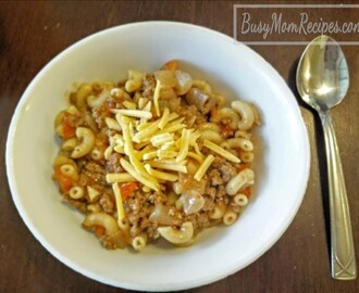 American Goulash (Easy, Stove Top)