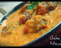 Chicken n Soya Kofta Curry