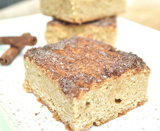 Snickerdoodle Soft & Chewy Cookie Bars
