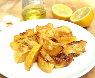 Summer Yellow Squash Roasted in Lemon & Olive Oil