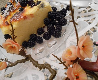 cheese cake aux mures.