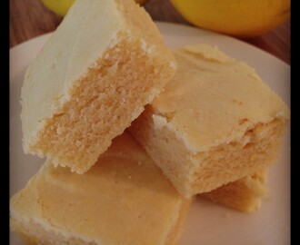 Lemony Lemon Brownies | Thermomix Recipes