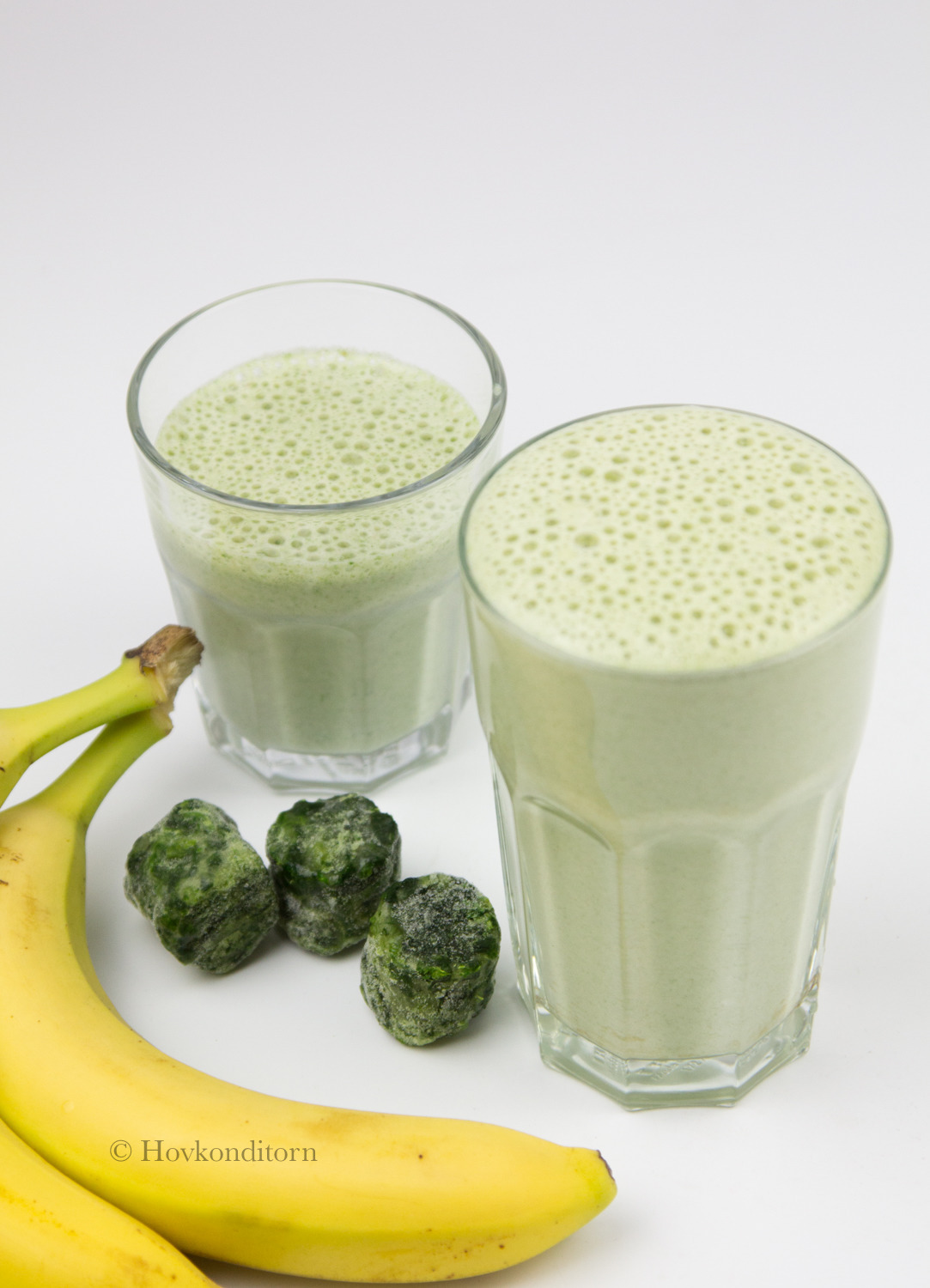 Smoothie with Spinach and Banana