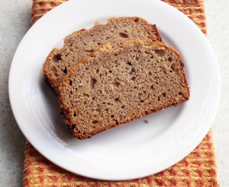 Banana Bread (Wheat, Dairy, Sugar and Nut Free)