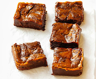 Caramel Fudge Brownies With Sea Salt Chocolate