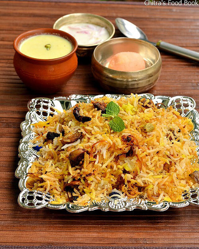Pakistan Biryani Recipe-Ramzan Special Mushroom Biryani Recipe-Sunday Lunch Recipes Series 24