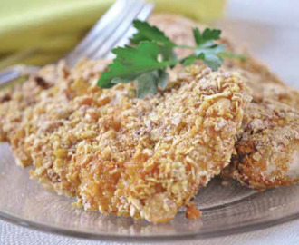Easy Oven Fried Chicken Recipe For BEST Crunchy Oven Fried Chicken Breasts
