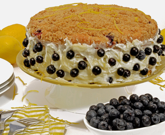Blueberry Crumb Cake & Cream Cheese Lemon Twist Recipe
