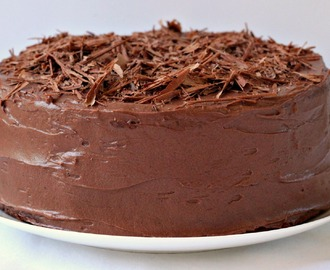 Chocolate Layer Cake with Chocolate Cream Cheese Frosting