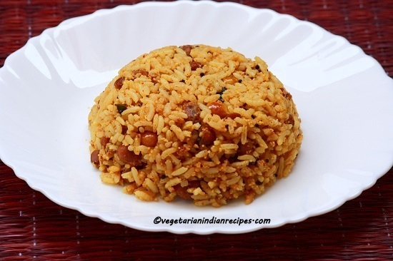 Tamarind Rice Recipe-How To Make Tamarind Rice-Puliogare-Puliyodharai-Puliyodarai