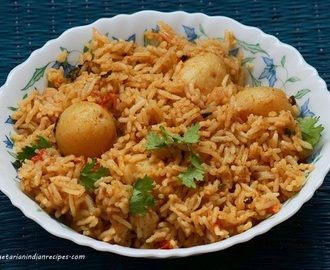 Chettinad Urulai Biryani Recipe-Baby Potato Biryani Recipe