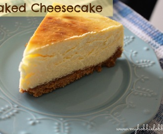 The best Baked Cheesecake ever