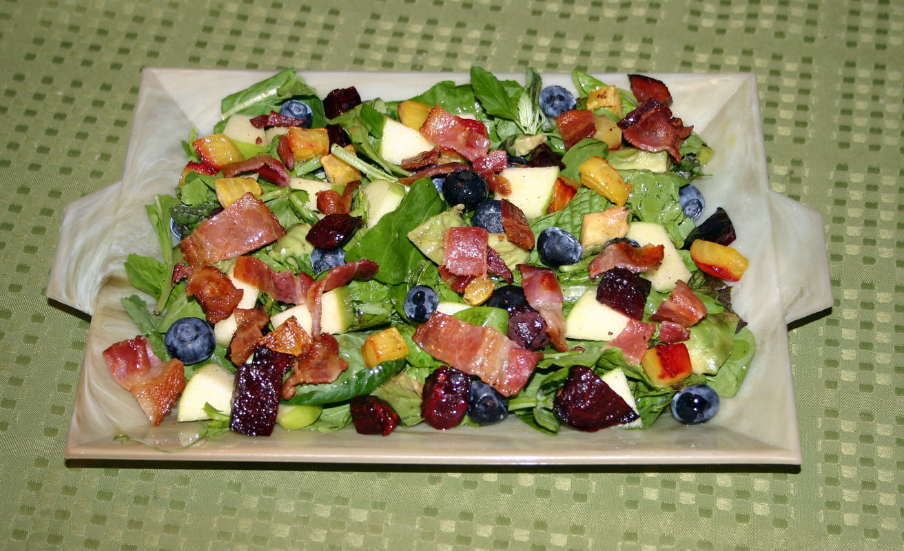 Bacon, Beet and Fruit Salad – AIP/Paleo