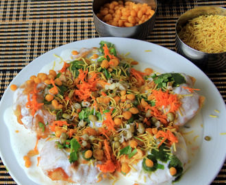 Indian snacks without oil recipes mytaste dahi puri recipe chaat recipe snack recipe starter recipe famous indian street forumfinder Image collections