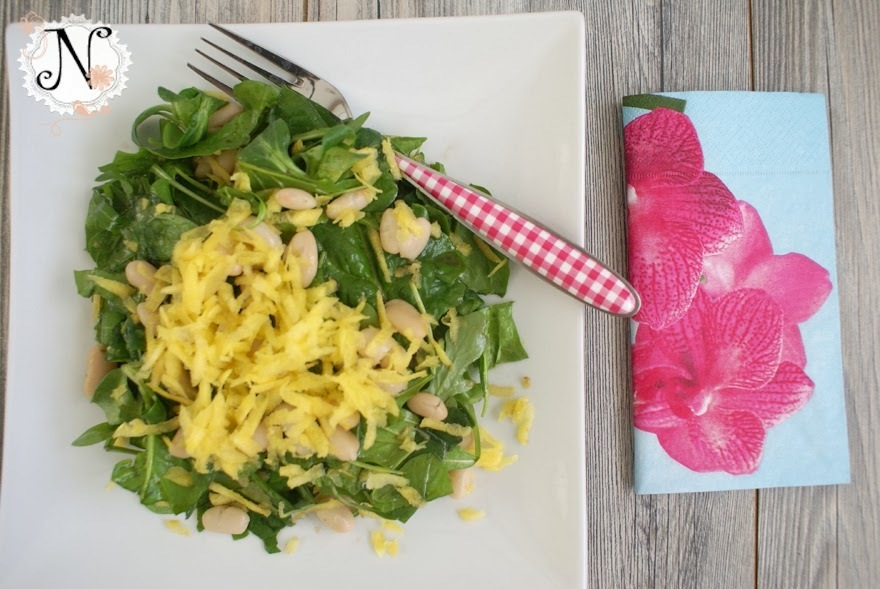 Healthy recipe: Spinach salad / Solata s spinaco