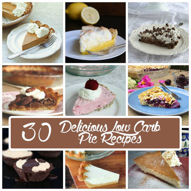 30 Delicious Low Carb Pie Recipes and a Baking Giveaway