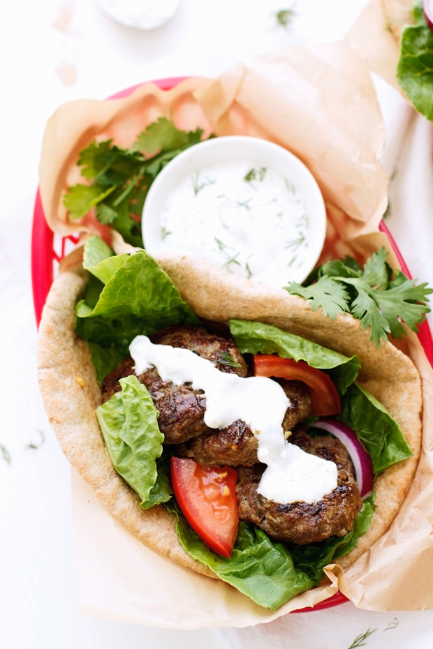 20-Minute Greek Gyros with Tzatziki Sauce